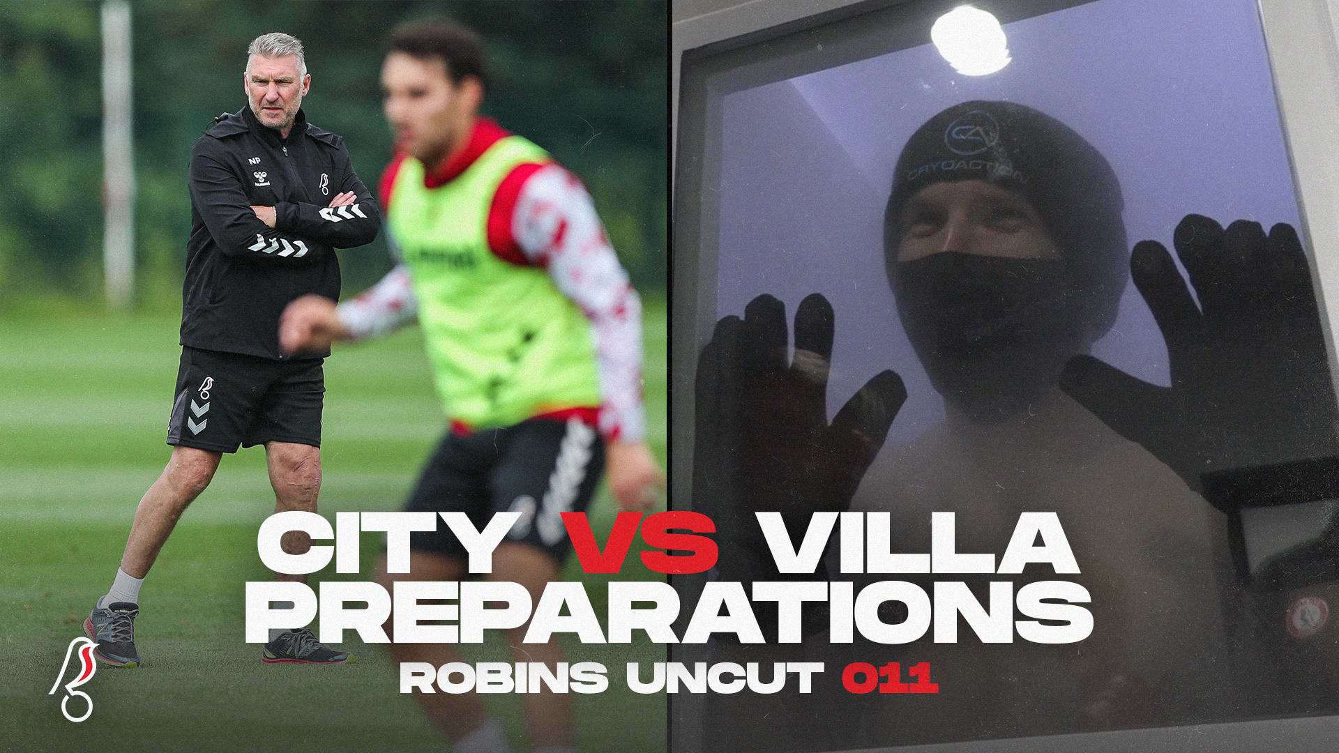 City vs Villa preparations
