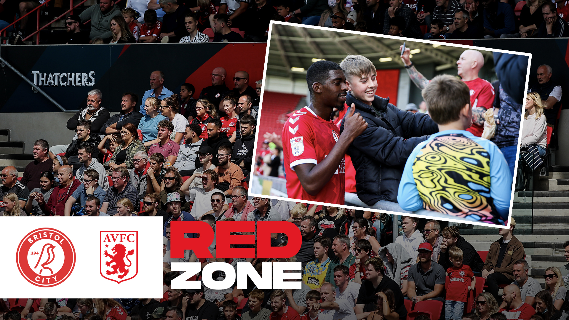 Fans back at Ashton Gate | Behind-the-scenes