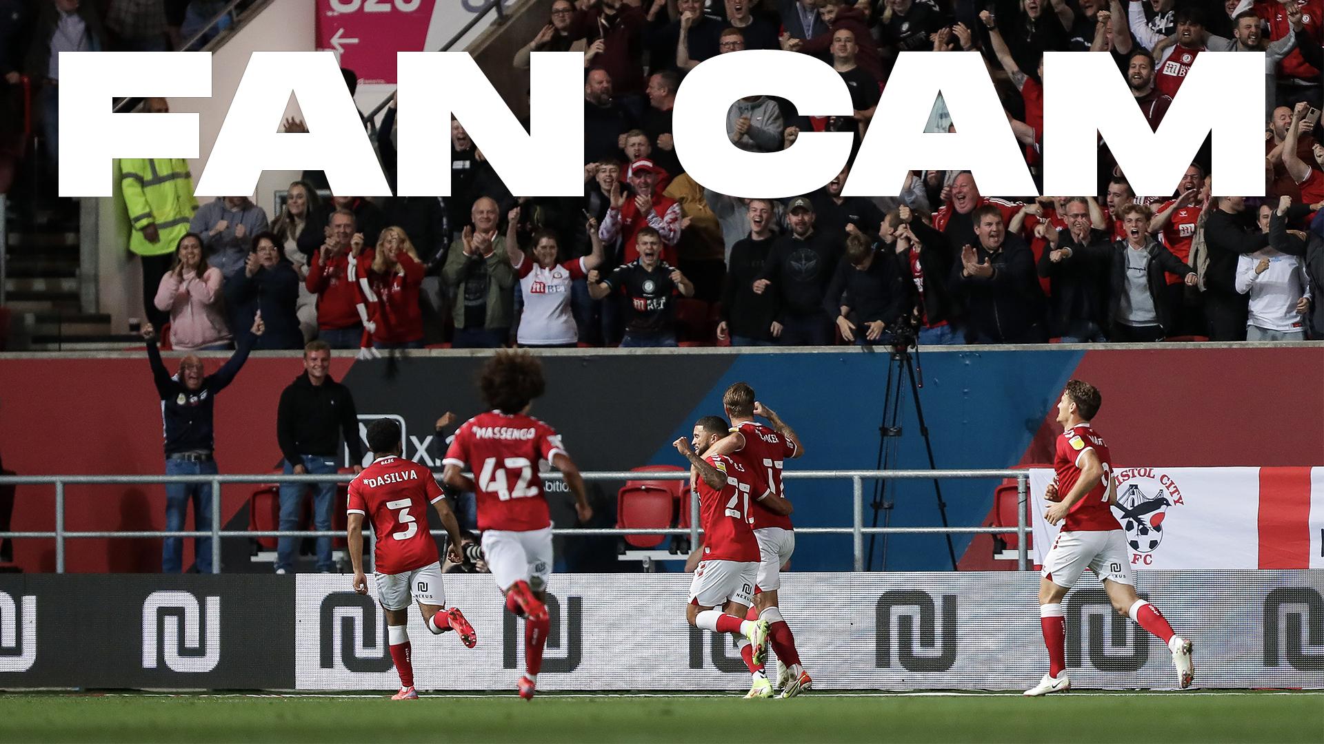 Fan Cam   Bristol City 1-1 Luton Town