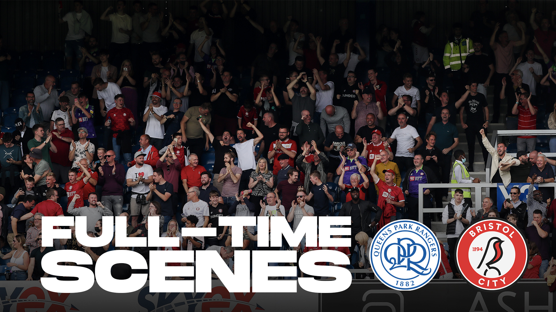 Full-time scenes as City win late on
