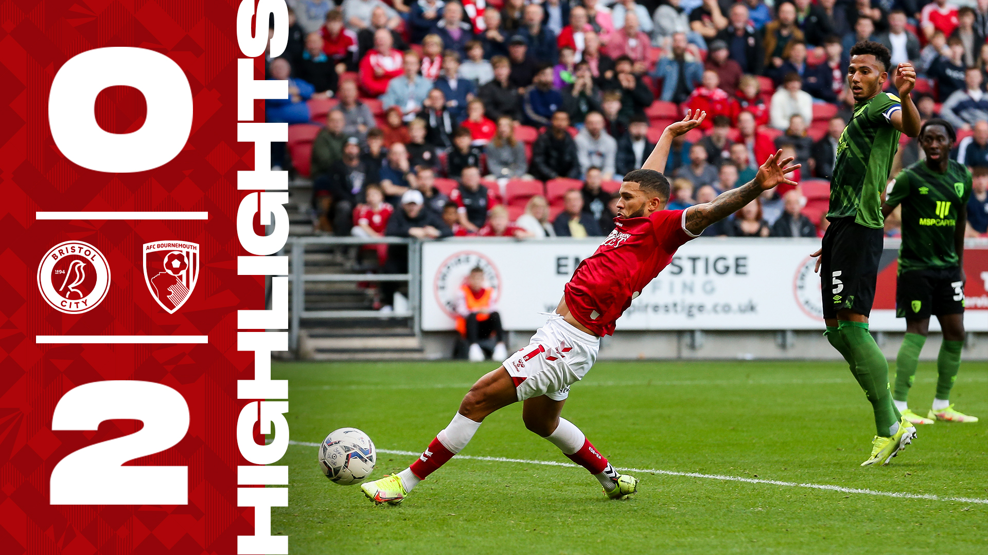 Bristol City 0-2 AFC Bournemouth