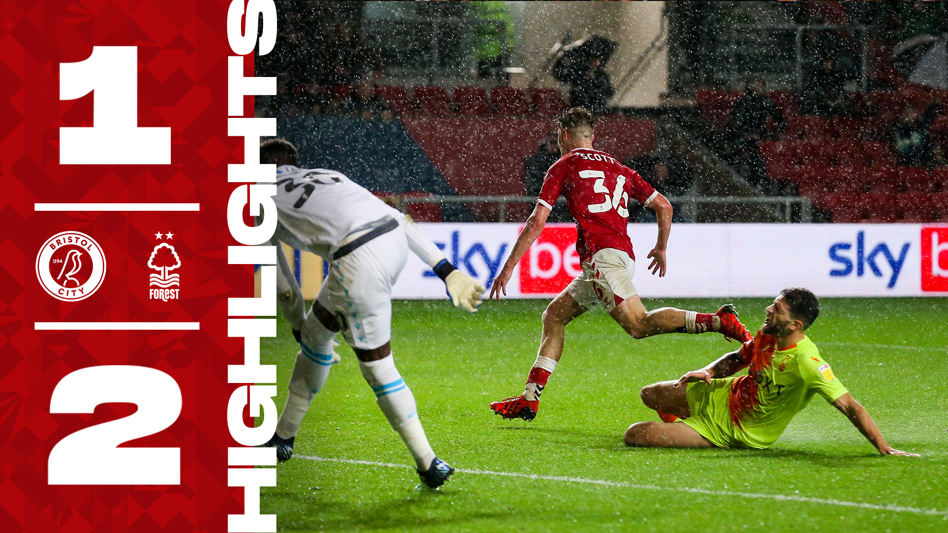 Bristol City 1-2 Nottingham Forest