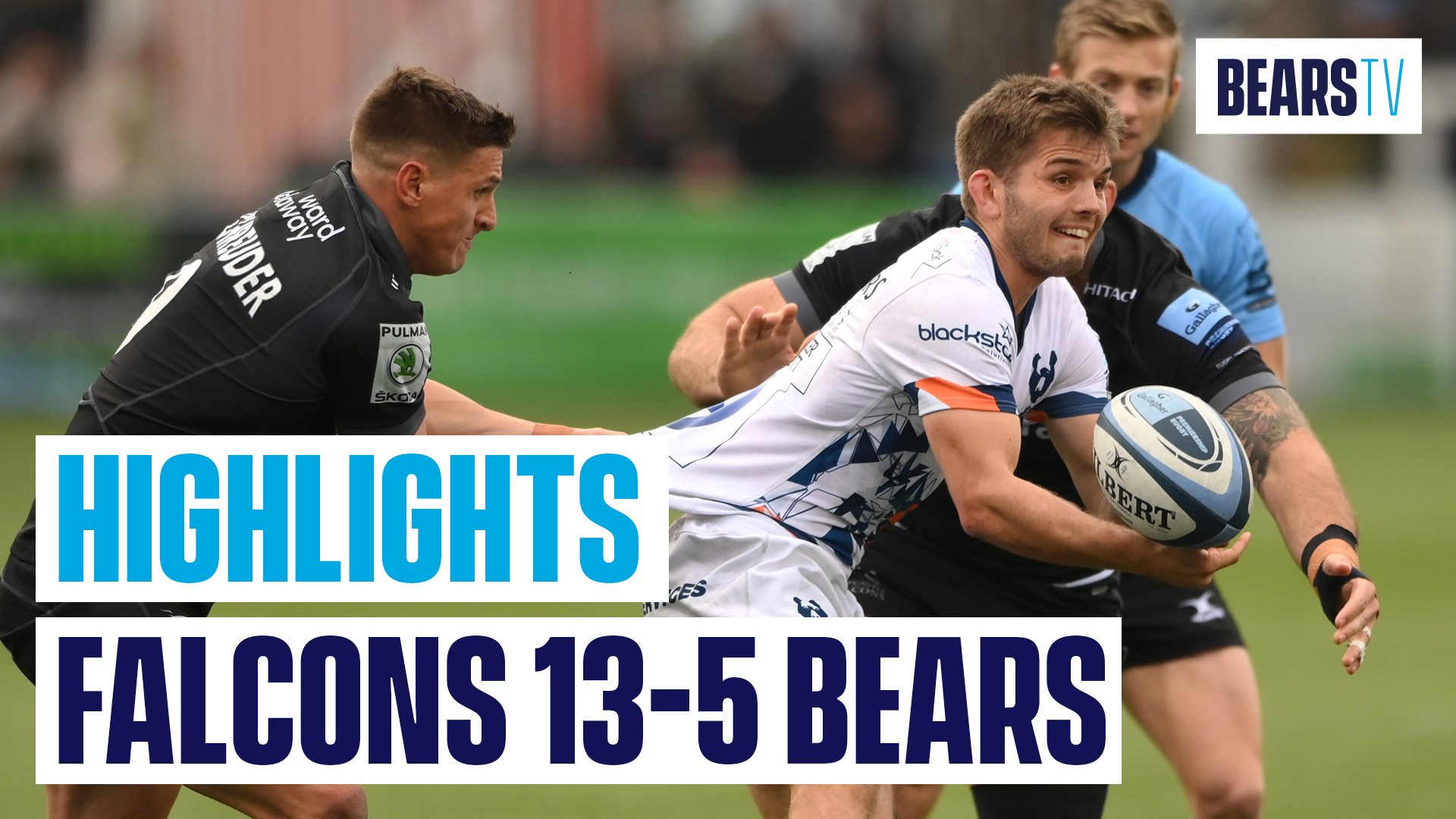 Highlights: Newcastle Falcons 13-5 Bristol Bears
